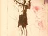 LA COLOMBA DELLA PACE DI PICASSOo-acquaforte-cm_-40x50-1989