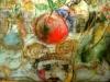 LA-GRANDE MAITRESSE-GRAFFITO-SU-CERA-CM.43X63-2006