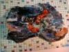ACQUA E FUOCO A STROMBOLI-ceramica-cristalli-cm-415x30-2009