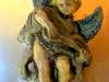 ANGELO SUONATORE-ceramica-raku-cm-18x16-2011