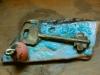 LA CHIAVE-ceramica-cristalli-bronzo-the-key-bronze-crystals-cm-12x8-2012
