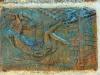 SALUTO AL MONDO-TERRACOTTA PATINATA CM.75X52-1979