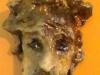 PRIMA CHE IL GALLO CANTI-ceramica-raku-before-the-rooster-sing-ceramic-raku-cm-18x9x6-2012